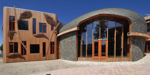 10 Sürdürülebilir Okul Binası örneği